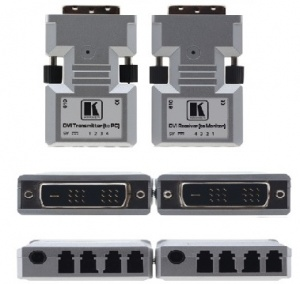 transmitter and receiver dvi signal for optical cable